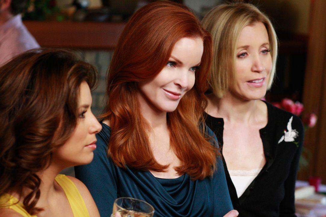 Haben so mache Probleme: Gabrielle (Eva Longoria, l.), Bree (Marcia Cross, M.) und Lynette (Felicity Huffman, r.) ... - Bildquelle: ABC Studios