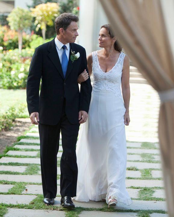 Entscheiden sich ganz spontan zu heiraten: Pete (Tim Daly, l.) und Violet (Amy Brenneman, r.) ... - Bildquelle: ABC Studios