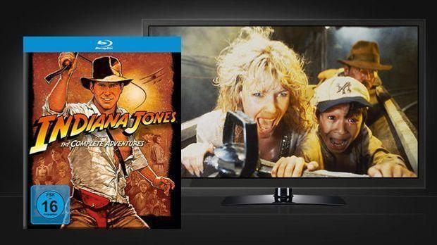 Indiana Jones - Szenenbild und Cover