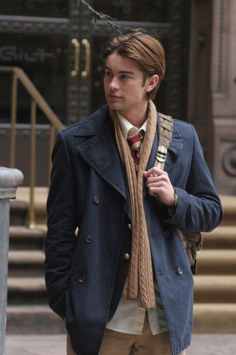 Nate (Chace Crawford) ist völlig überrumpelt, als er erfährt, dass Serena wieder auf der Schule ist ... - Bildquelle: Warner Brothers