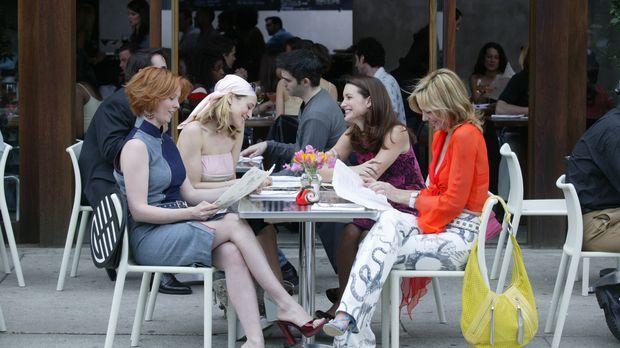 Weiblich, ledig, sexy sucht ...: (v.l.n.r.) Miranda (Cynthia Nixon), Carrie (...