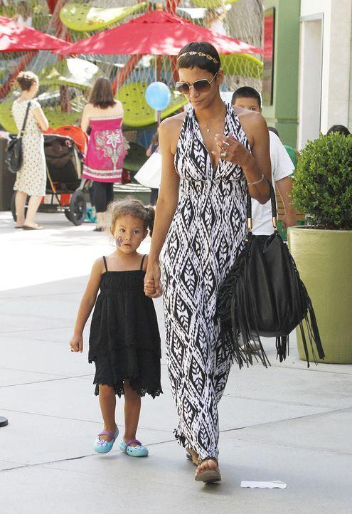 Halle Berry's Tochter Nahla Ariela Aubry - Bildquelle: WENN.com