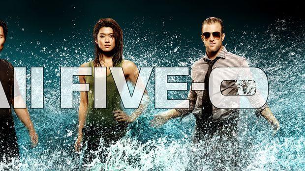 (1. Staffel) - Hawaii Five-0: Steve McGarrett (Alex O'Loughlin, l.), Danny Wi...