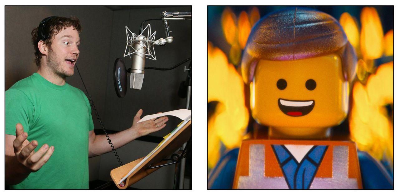 Die Originalstimme von Bauarbeiter Emmet gehört Chris Pratt ... - Bildquelle: 2014 Warner Brothers