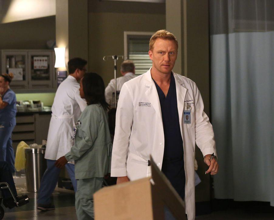 Der Sturm der vergangenen Nacht hat auch bei Owen (Kevin McKidd) seine Spuren hinterlassen. Seine Beziehung zu Christina scheint der Vergangenheit a... - Bildquelle: ABC Studios