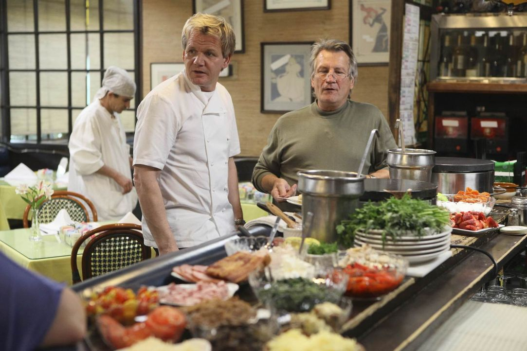 "Mit innovativen Ideen will Gordon Ramsay das ""La Frite"" vor dem Bankrott bewahren ... - Bildquelle: Fox Broadcasting.  All rights reserved."