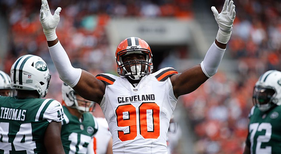 Emmanuel Ogbah (Defensive End, Cleveland Browns) - Bildquelle: 2017 Getty Images