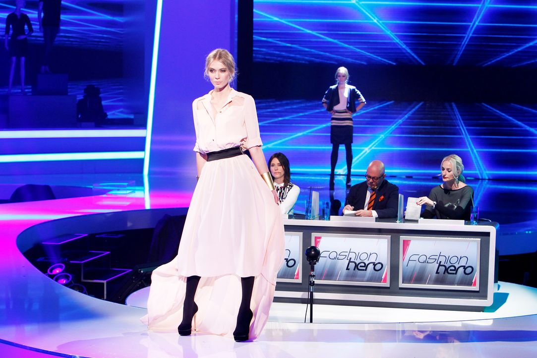 Fashion-Hero-Epi01-Show-09-ProSieben-Richard-Huebner - Bildquelle: ProSieben / Richard Huebner