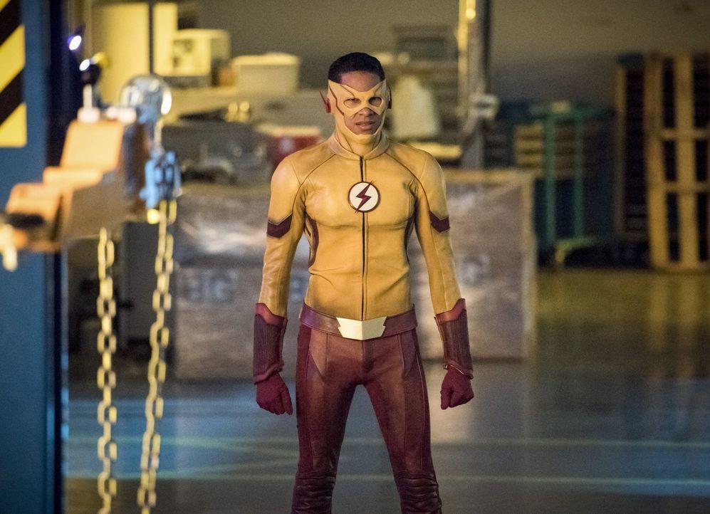 Als sich Barry um seine Beziehungsschwierigkeiten kümmert, muss Wally alias Kid Flash (Keiynan Lonsdale) einspringen und einen weiteren Mord verhind... - Bildquelle: 2017 Warner Bros.