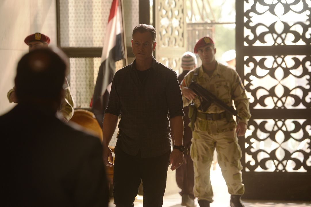 Muss mit seinem Team in Ägypten einen Mann aufhalten, der den amerikanischen Ex-Soldaten Malik Said mit giftigem Gas getötet und dessen Freund Hank... - Bildquelle: Darren Michaels 2015 American Broadcasting Companies, Inc. All rights reserved.