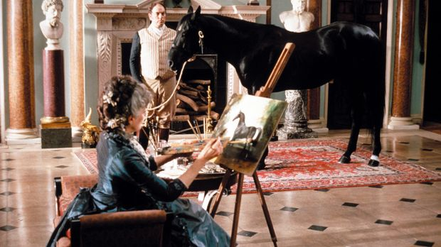 Weil es die Mode verlangt, werden bei Lord und Lady Wexmire (Eleanor Bron) de...