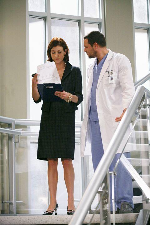 Alex (Justin Chambers, r.) sucht Rat bei Addison (Kate Walsh, l.) - doch wird sie ihm wirklich weiterhelfen können? - Bildquelle: ABC Studios