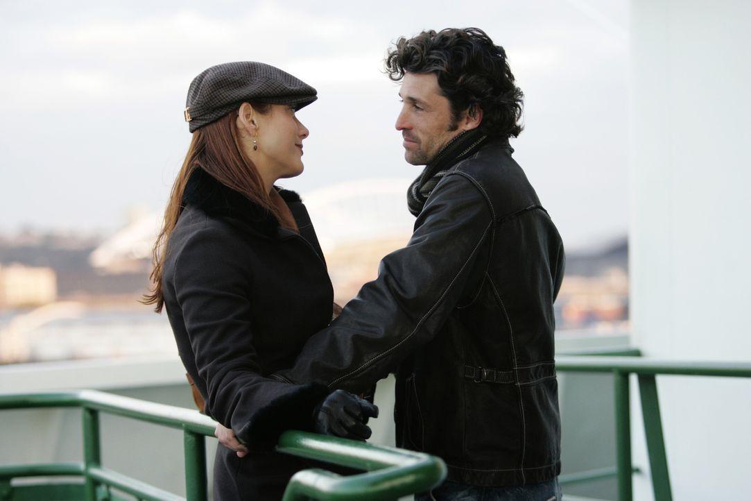 Verbringen Thanksgiving miteinander: Derek (Patrick Dempsey, r.) und Addison (Kate Walsh, l.) ... - Bildquelle: Touchstone Television