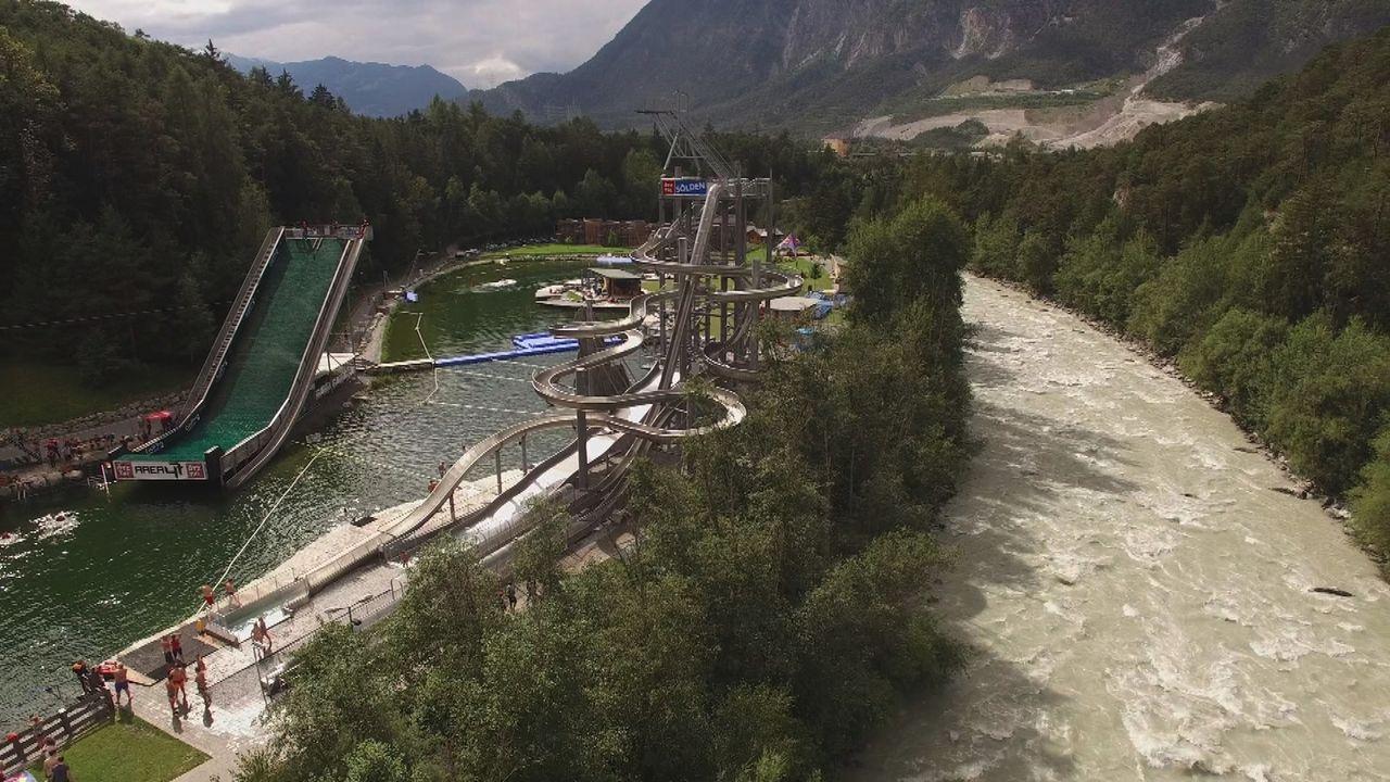 Spielplatz für Erwachsene: Area 47, der größte Outdoor-Freizeitpark Österreichs, bietet alles, was sich ein Outdoor-Fan wünschen kann ... - Bildquelle: 2016,The Travel Channel, L.L.C. All Rights Reserved.