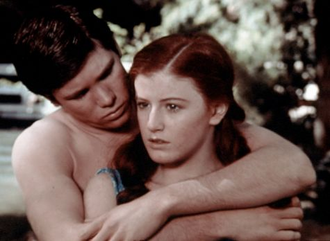 Die Waltons - Drew (Tony Becker, l.) möchte eine ganze Nacht mit Elizabeth (K...