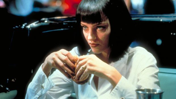Pulp Fiction: Szenenbild mit Uma Thurman