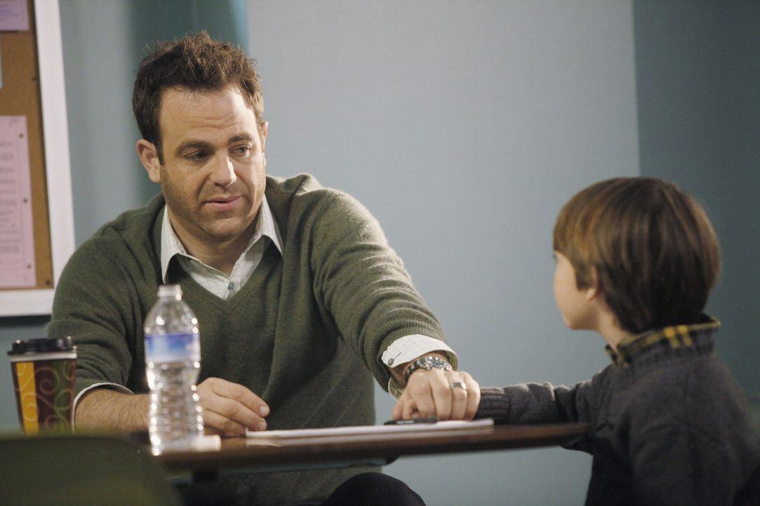 Erica will Mason (Griffin Gluck, r.) weiterhin nichts von ihrem bevorstehenden Tod erzählen und lässt ihn auch nicht zu sich. Da Mason nicht verst... - Bildquelle: ABC Studios
