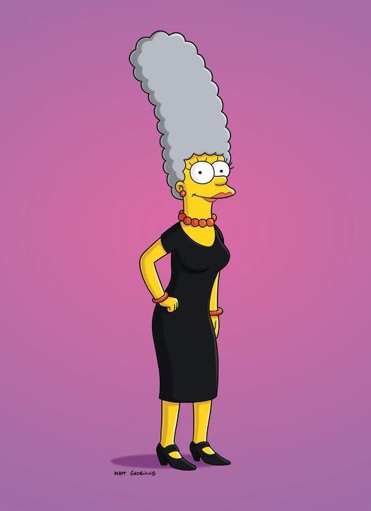 Marge hat beschlossen, ihre Haare nicht mehr zu färben und zu ihren grauen Haaren zu stehen ... - Bildquelle: und TM Twentieth Century Fox Film Corporation - Alle Rechte vorbehalten