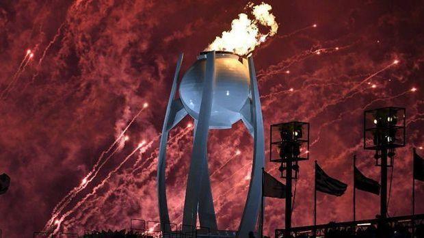 Botschaft des Friedens: Olympisches Feuer brennt in Pyeongchang