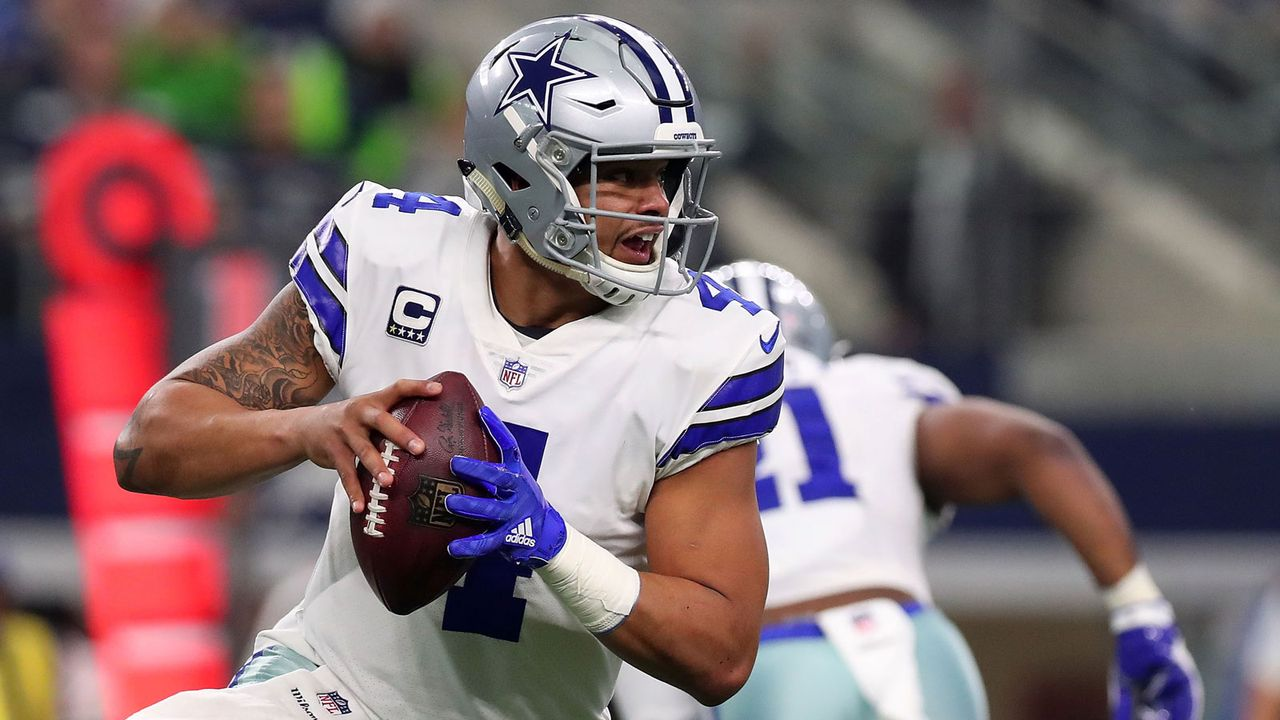 9. Dak Prescott (Dallas Cowboys) - Bildquelle: 2017 Getty Images