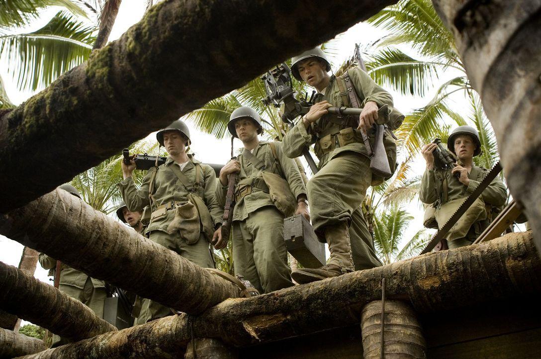 Von August 1942 bis Februar 1943 war die Insel Guadalcanal der Brennpunkt sehr heftiger Kämpfe zwischen den Amerikanern und den Japanern. Für den... - Bildquelle: Home Box Office Inc. All Rights Reserved.