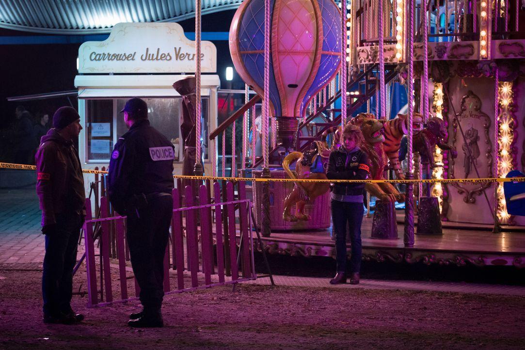 Als ein Junge auf einem Rummelplatz spurlos verschwindet, stehen die Ermittler vor einem Rätsel ... - Bildquelle: Eloïse Legay 2016 BEAUBOURG AUDIOVISUEL