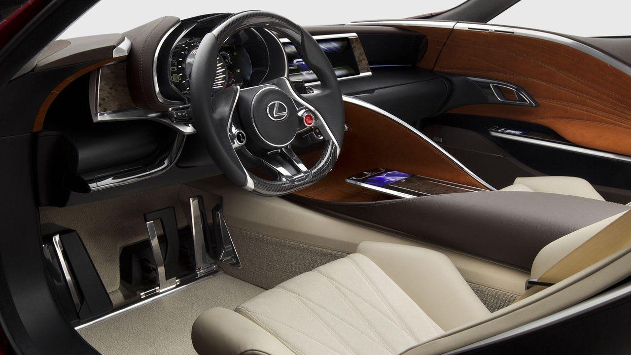 Lexus LF-LC - Bildquelle: Lexus