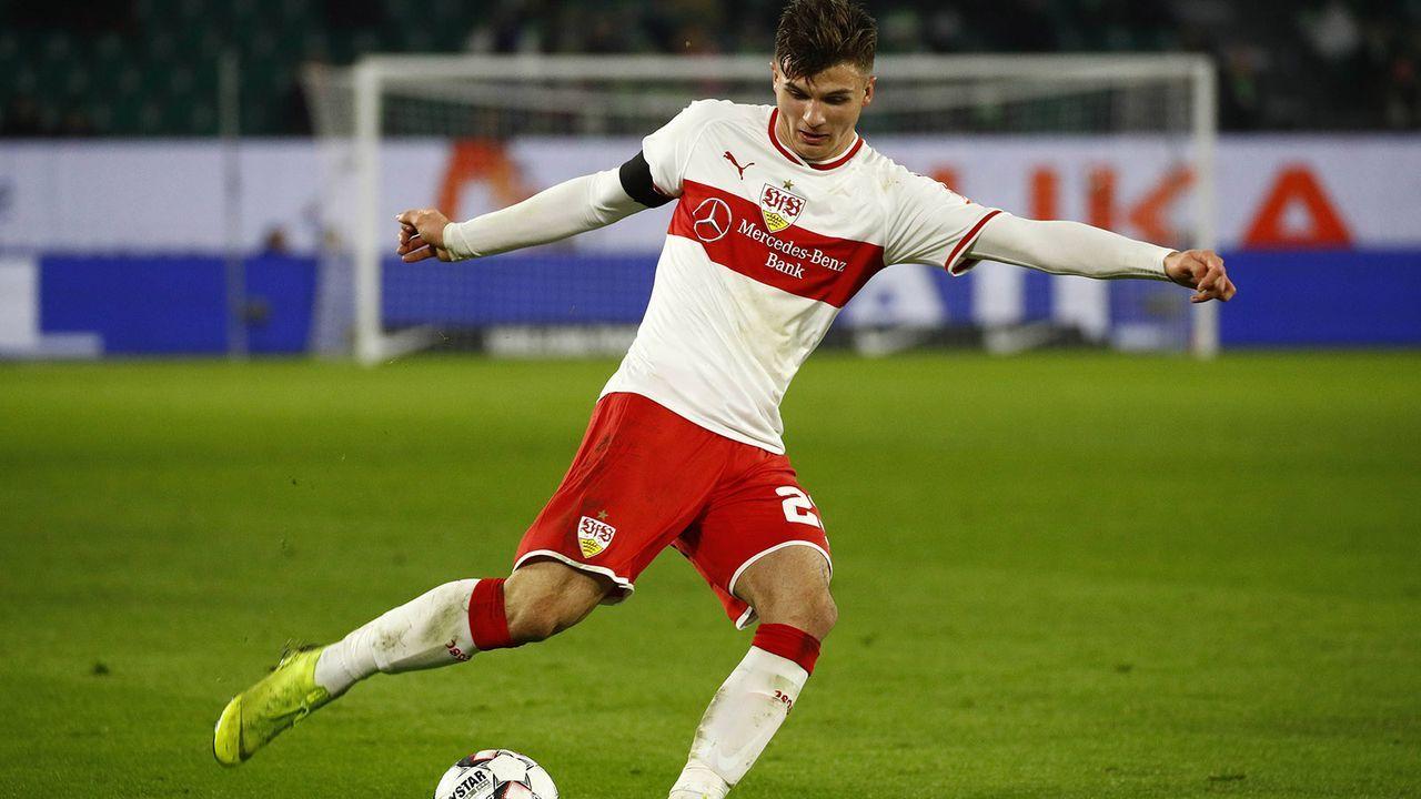 Antonis Aidonis (VfB Stuttgart) - Bildquelle: imago/Joachim Sielski