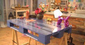 Tisch Aus Palette Bauen Diy Anleitung Aus Handmade Mit Enie