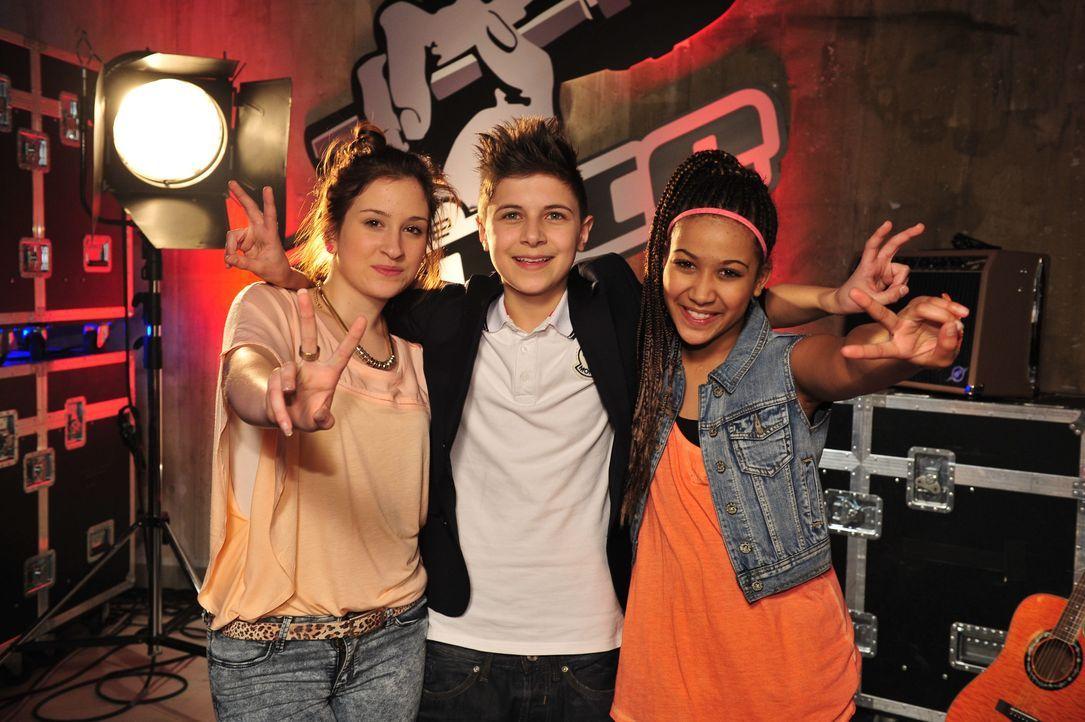 The-Voice-Kids-s02e06-12 - Bildquelle: SAT.1/Andre Kowalski