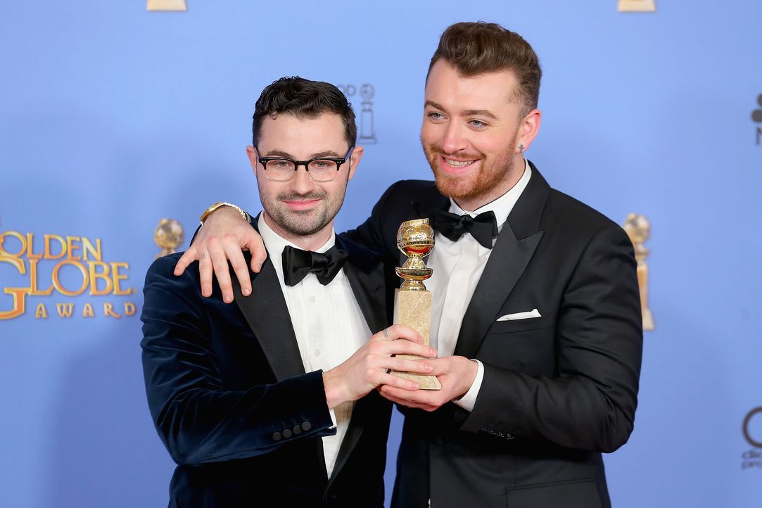 GG-Gewinner-160110-Jimmy-Napes-Sam-Smith-getty-AFP - Bildquelle: getty-AFP