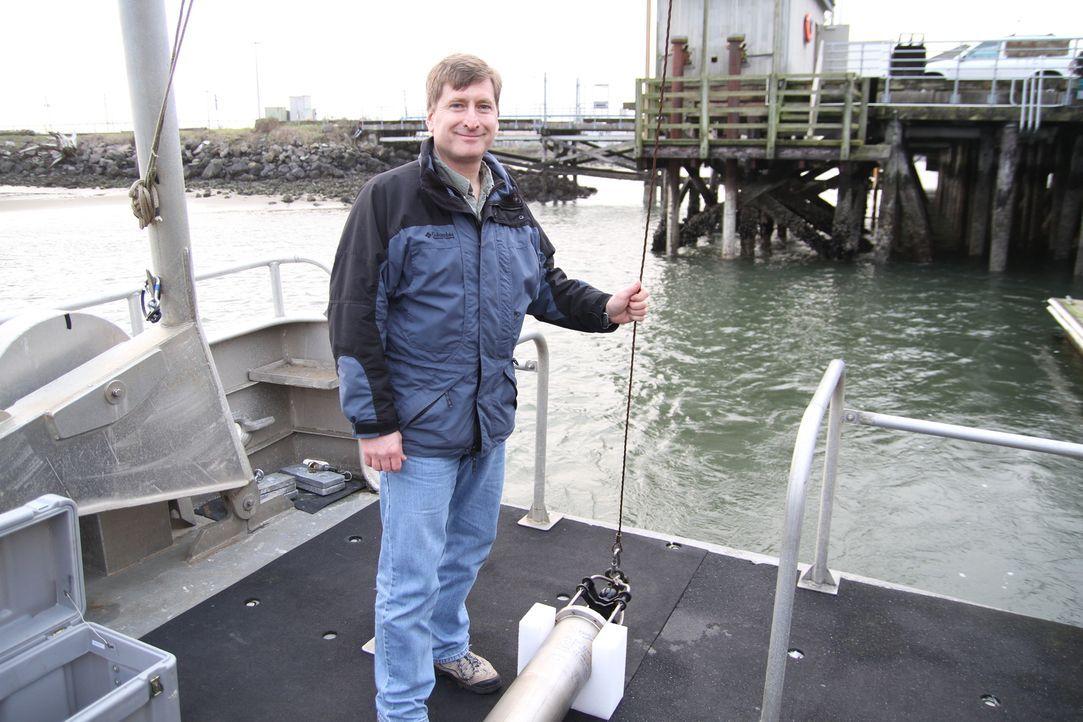 Geologe Robert Dziak geht in den Tiefen des Ozeans mit einem Hydrophon einem der lautesten Klänge in der natürlichen Welt auf die Spur... Woher komm... - Bildquelle: Sean Turell Cineflix 2009
