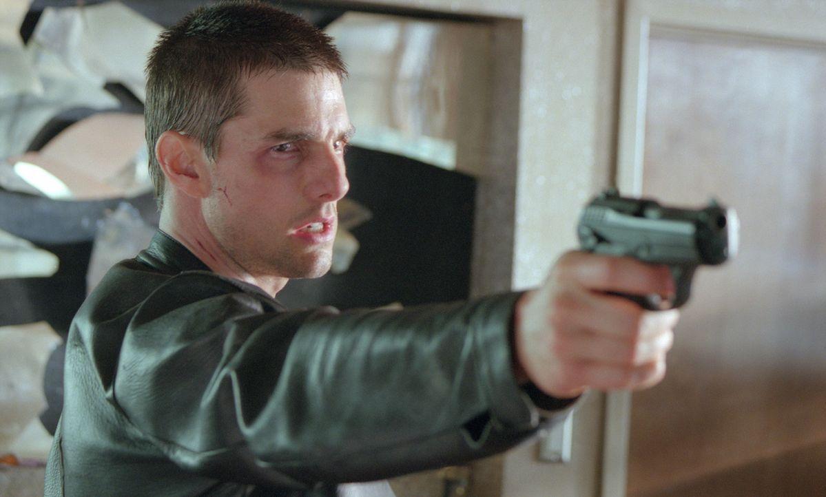 Washington D.C. im Jahre 2054. John Anderton (Tom Cruise) ist Chef einer neu gegründeten Polizeitruppe. Mit Hilfe von drei Hellsehern, den so genan... - Bildquelle: 2002 Dreamworks LLC & 20th Century Fox Film Corp. All Rights Reserved