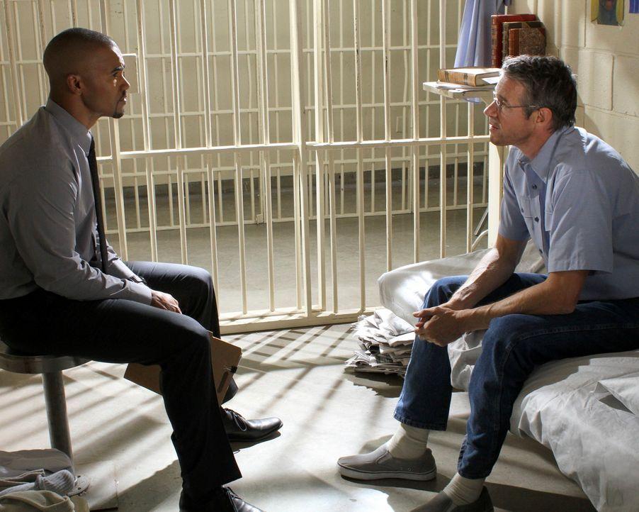 Morgan (Shemar Moore, l.) steht vor einer schwierigen Aufgabe: Er soll ein Gutachten über Donald Sanderson (Kyle Secor, r.), der nach 25 Jahren Haft... - Bildquelle: ABC Studios