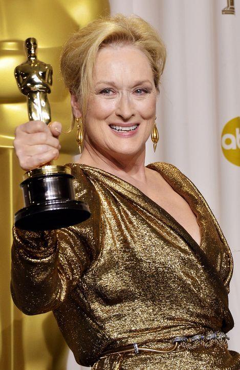 Beste-Hauptdarstellerin-2012-Meryl-Streep-AFP - Bildquelle: AFP