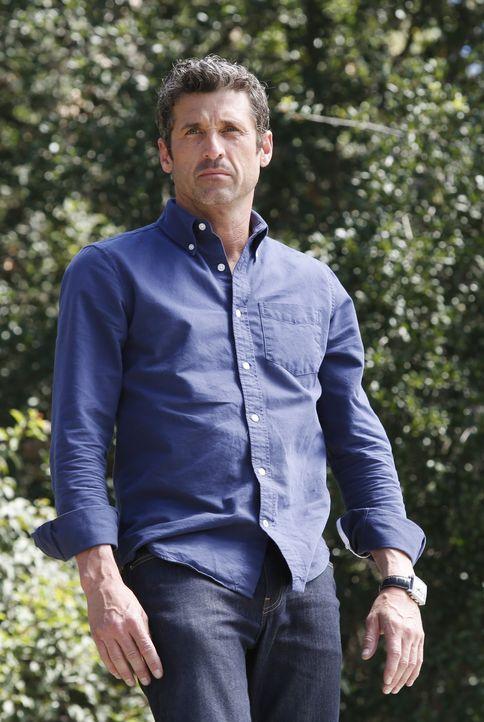 Wird Zeuge eines schrecklichen Autounfall und wird dabei selbst schwer verletzt: Derek (Patrick Dempsey) ... - Bildquelle: ABC Studios