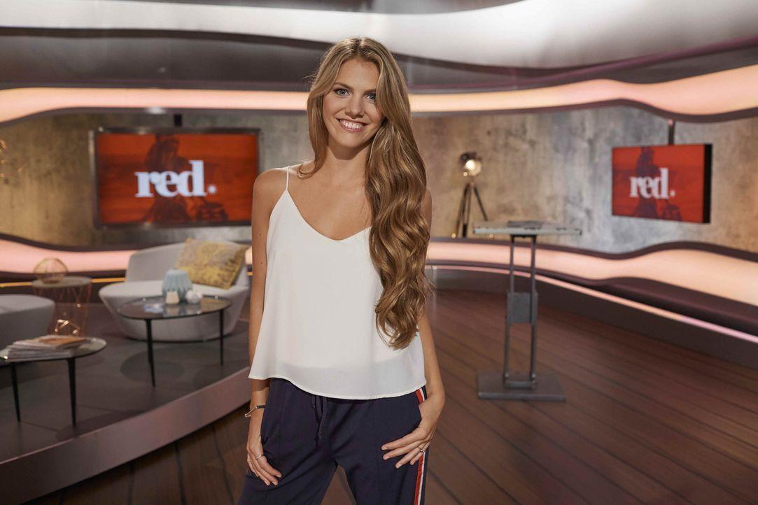 red.-Moderatorin Viviane Geppert - Bildquelle: Benedikt Müller ProSieben