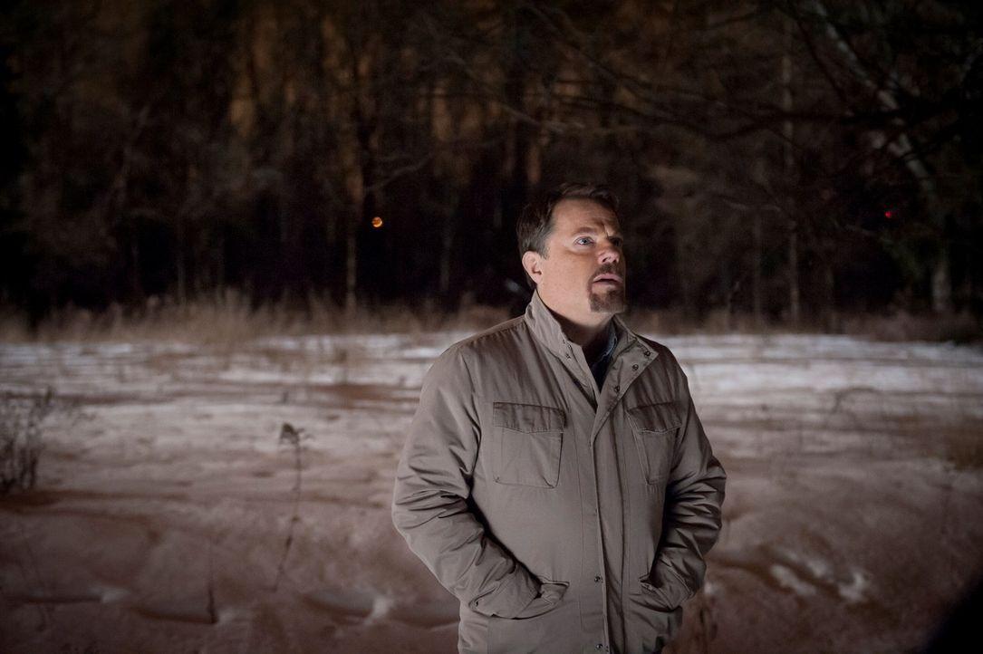 Dem Psycho-Killer Dr. Gideon (Eddie Izzard) gelingt es, während eines Gefangenentransports zu türmen. Jetzt ist sein Plan, den Chesapeake-Ripper,... - Bildquelle: Brooke Palmer 2013 NBCUniversal Media, LLC