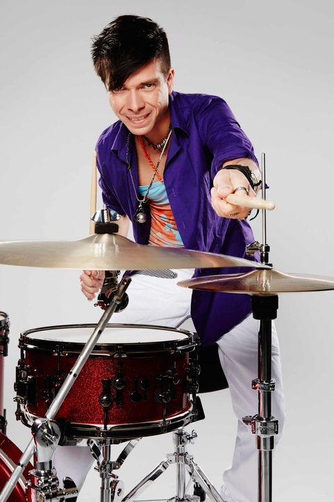Die-Band-Drummer-Sebastian-01-ProSieben-Richard-Huebner - Bildquelle: ProSieben/Richard Hübner