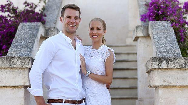 Hochzeit Manuel Neuer und Frau Nina