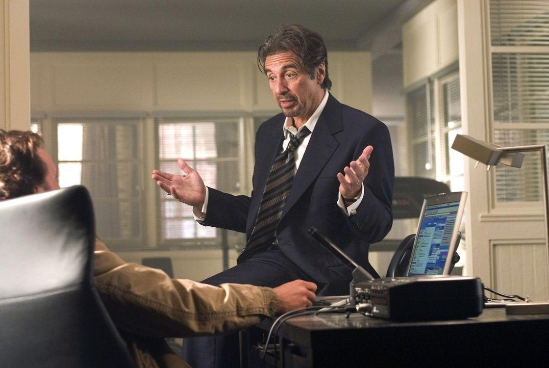 Bereits nach kurzer Zeit kann Walter Abraham (Al Pacino, r.) Brandon (Matthew McConaughey, l) verinnerlichen, dass beim Wetten nur eine Regel gilt:... - Bildquelle: Morgan Creek Productions