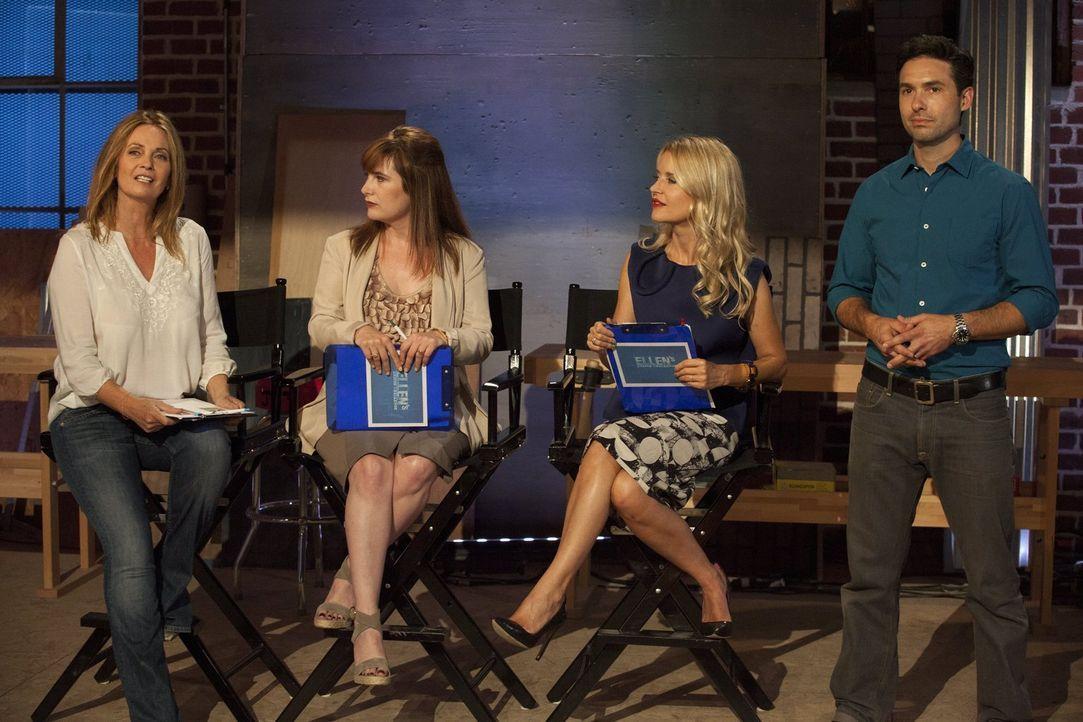 Wen werden Rachel Ashwell (l.), Vorreiterin der Shabby-Schick-Bewegung, Amanda Dameron (2.v.l.), Chefredakteurin des Dwell Magazins, und Christiane... - Bildquelle: 2015 Warner Bros.