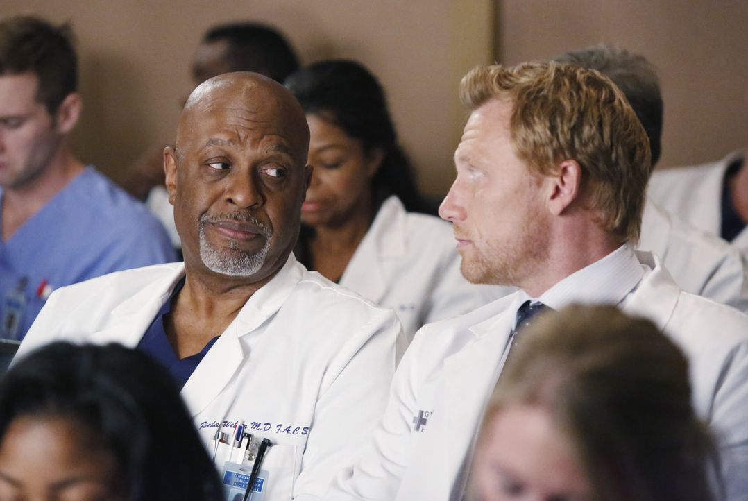 Die Ärzte des Grey Sloan Memorial Krankenhauses sind immer mehr von Dr. Hermans Fall fasziniert. Amelia gibt deshalb eine detaillierte Vorlesung übe... - Bildquelle: ABC Studios
