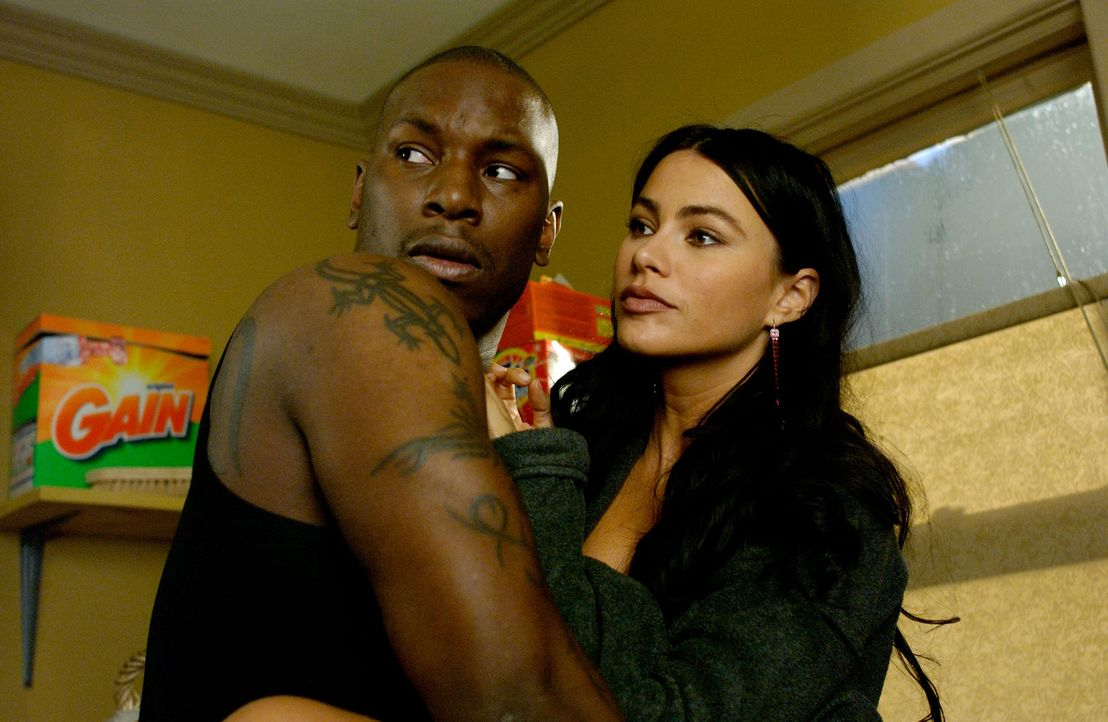 Erst spät erkennt Angel (Tyrese Gibson, l.), was er an Sofi (Sofia Vergara, r.) hat ... - Bildquelle: TM &   2006 Paramount Pictures. All Rights Reserved.