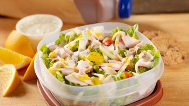Brotdose mit Salat