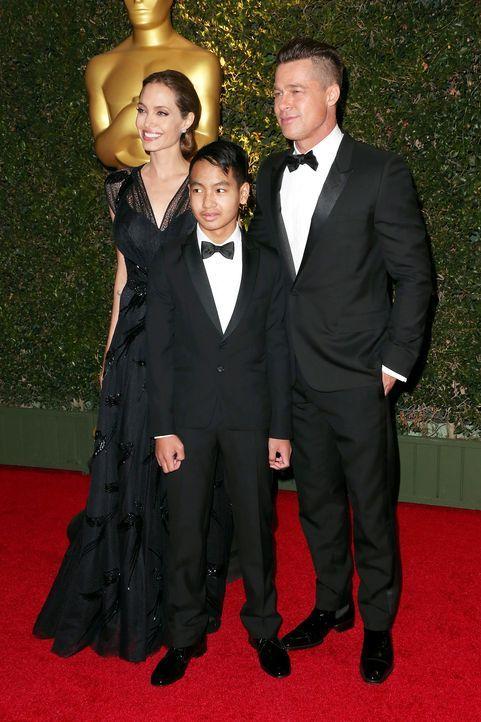 Governors-Awards-Angelina-Jolie-Maddox-Jolie-Pitt-Brad-Pitt-13-11-16-AFP - Bildquelle: AFP