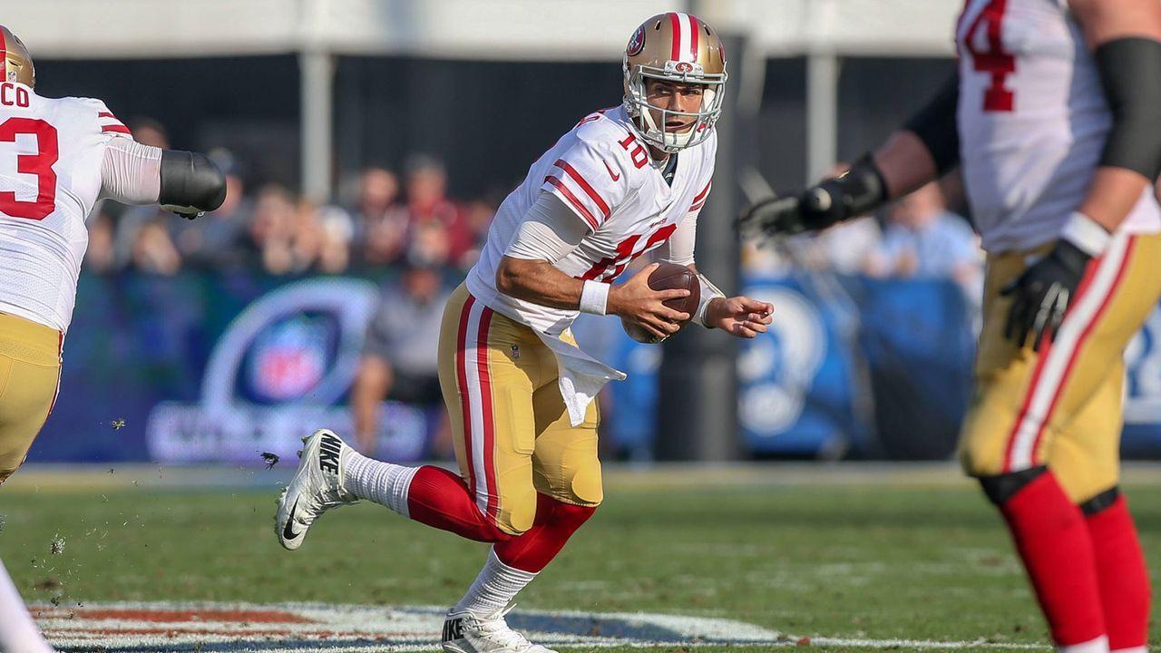 2. Jimmy Garappolo (San Francisco 49ers) - Bildquelle: 2018 imago