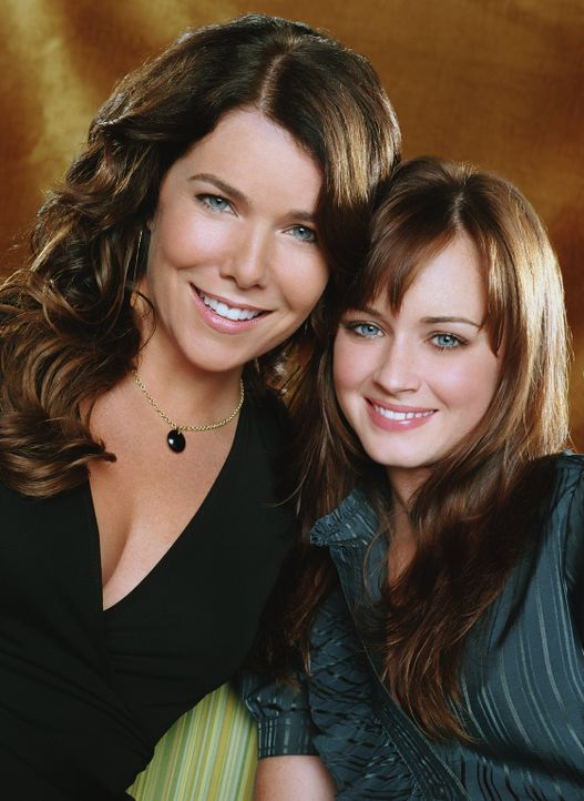 (7. Staffel) - Während sich Lorelai (Lauren Graham, l.) in Sache Liebe auf Altbekanntes verlässt, stößt Rory (Alexis Bledel, r.) in ihrer Beziehung... - Bildquelle: Warner Brother International Television