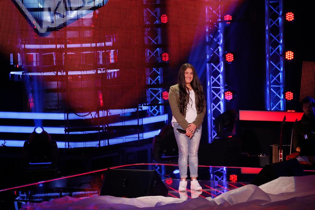 The-Voice-Kids-s04e02-Shayene-5-SAT1-Richard-Huebner - Bildquelle: © SAT.1/ Richard Hübner