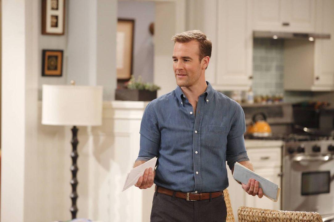 Noch glaubt Will (James Van Der Beek), dass Nachbarschaftsfreundschaften nichts Negatives an sich haben ... - Bildquelle: 2013 CBS Broadcasting, Inc. All Rights Reserved.
